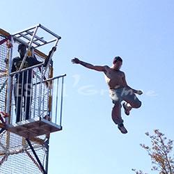 Escal 39 grimpe album photo cage toboggan tyrolienne air bag - Crepir avec une tyrolienne ...