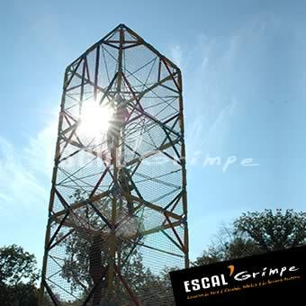 Photo de notre Cage à Grimper (8m)