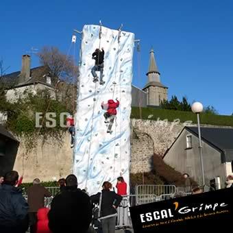 Photo de notre Mur de Glace (8m)