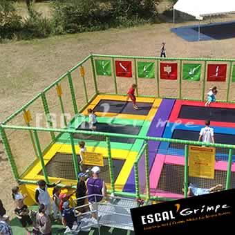 Location de trampolines en France métropolitaine !